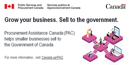 Doing business with the Government of Canada (webinar) tickets