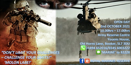 Royal Marines Reserves Open Day tickets