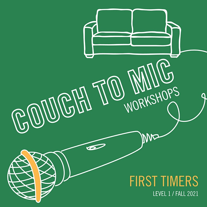 Couch to Mic: First Timers - Adult Comedy Performance Training (SOLD OUT) image