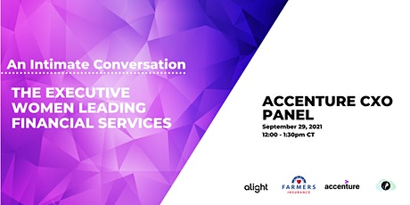 Intimate Conversation With The Executive Women Leading Financial Services tickets