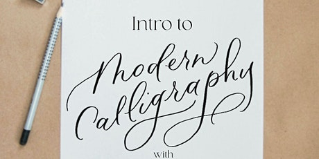 Intro to Modern Calligraphy Workshop tickets