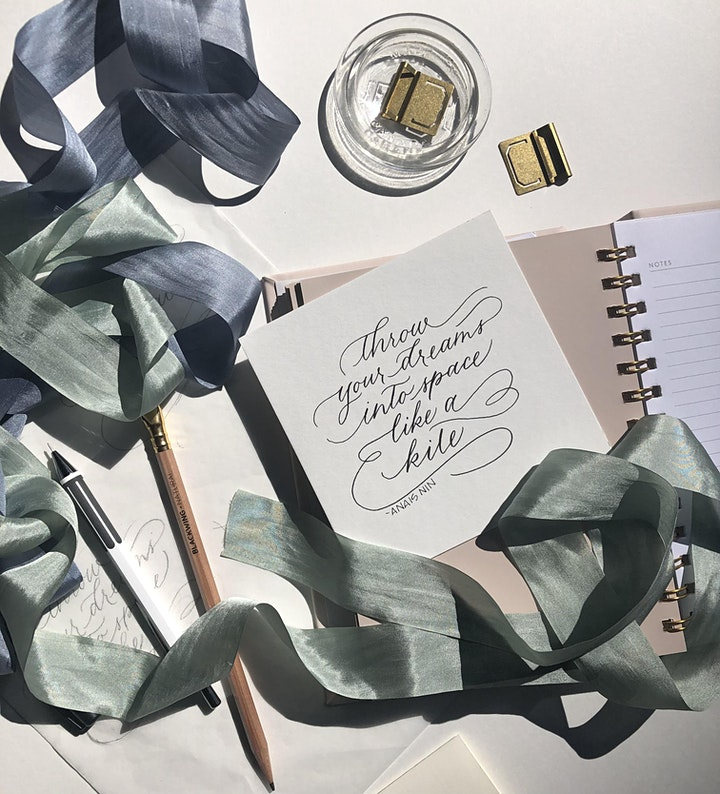 Intro to Modern Calligraphy Workshop image
