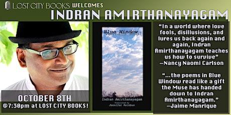 Indran Amirthanayagam reads and discusses Blue Window/Ventana Azul tickets