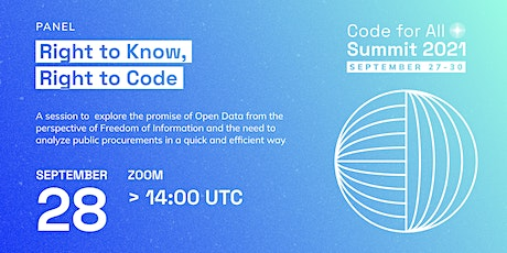 Right to Know, Right to Code tickets