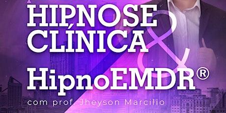 São Paulo - Curso de Hipnose Clínica e HipnoEMDR® ingressos