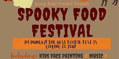 Spooky Food Festival // Honey Babe Market // Halloween Festival tickets