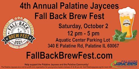 4th Annual Fall Back Brew Fest tickets