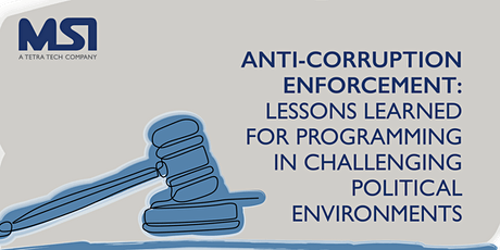 Anti-Corruption Enforcement: Lessons Learned for Programming tickets