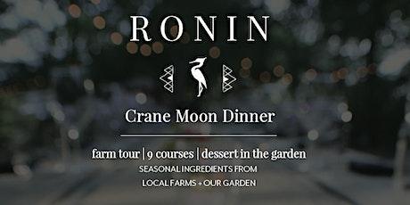 Crane Moon Dinner tickets