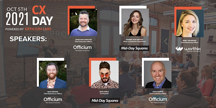 Customer Experience (CX) Day Hosted By Officium Labs image