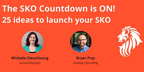 Sales Enablement: SKO Countdown tickets