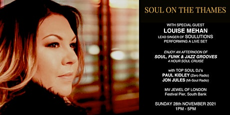 Soul on the Thames - November Soul Cruise tickets