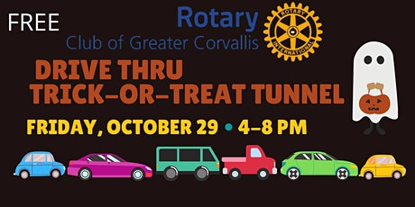 Rotary's  Drive Thru Trick-or-Treat Tunnel 2021 tickets