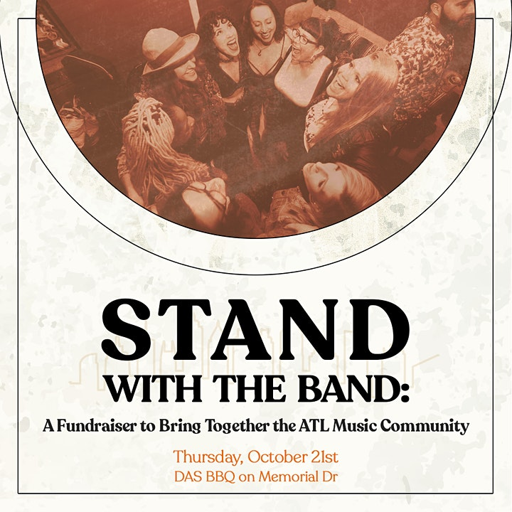 Stand With The Band: A Fundraiser to Bring Together the ATL Music Community image