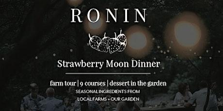 Strawberry Moon Dinner tickets