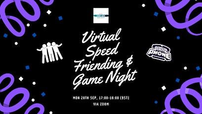 UCL First-Gen  Virtual Speed Friending & Game Night tickets