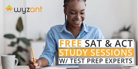 FREE SAT Math Exam Study Session tickets