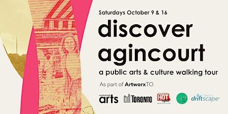 Discover Agincourt: A Public Art Walking Tour, as a part of ArtworxTO tickets