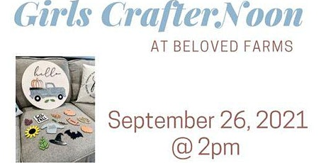 CrafterNoon at Beloved Farm tickets
