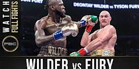 Deontay Wilder vs. Tyson Fury III live on big screen tickets