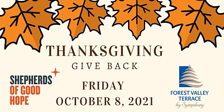 Thanksgiving Give Back tickets