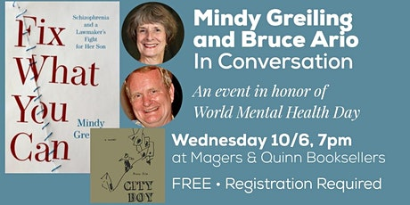 Mindy Greiling and Bruce Ario in Conversation tickets
