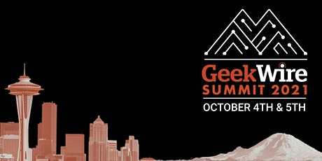 2021 GeekWire  Summit tickets