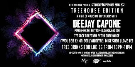 Saturday Night - TREEHOUSE EDITION at Myth Nightclub | Saturday 09.25.21 tickets