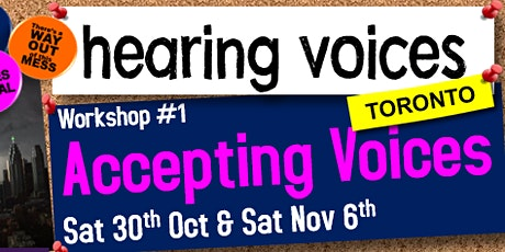 Hearing Voices Workshop#1- Accepting Voices tickets