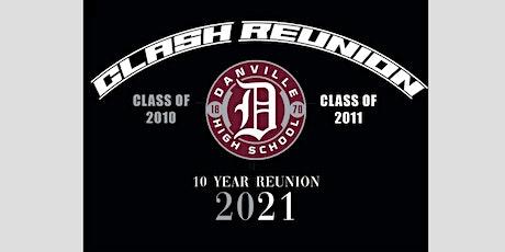 Class of 2010 & 2011 Ten Year Reunion tickets