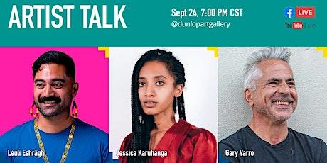 Online Artist Talk - Projections tickets