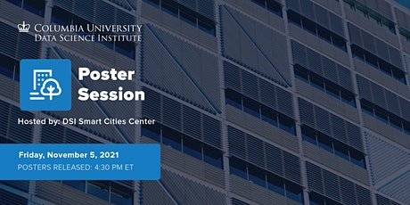 Smart Cities Center Poster Session: Fall 2021 tickets