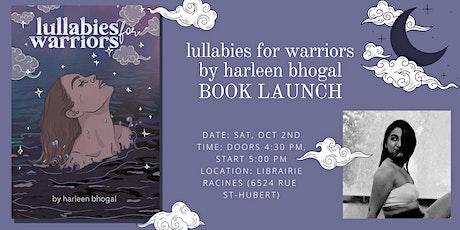 Book Launch: lullabies for warriors by harleen bhogal tickets