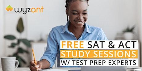 FREE  ACT & SAT Writing /Language Exam Study Session tickets
