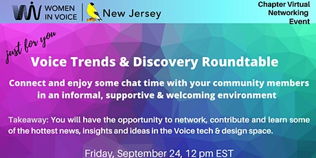 Voice Trends & Discovery Roundtable tickets