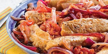 Peruvian chicken saltado – AppleCare Virtual Event tickets