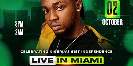 Omah Lay Live in Miami (celebrating Nigeria's 61st independence) tickets