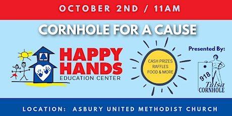 Cornhole for a Cause - Happy Hands Education Center tickets