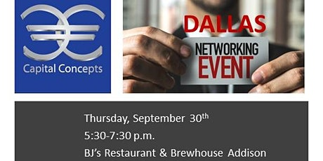 Capital Concepts DALLAS Real Estate Networking Event tickets