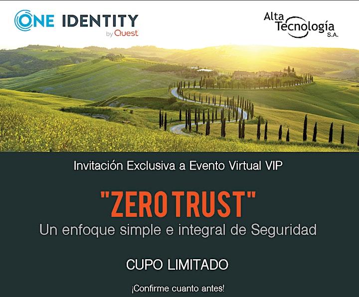 Imagen de ZERO TRUST- Un enfoque simple e integral de Seguridad