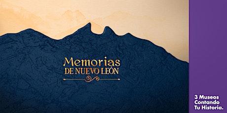 Memorias de Nuevo León 2021. Encomiendas y congregas en el Nuevo Reino boletos