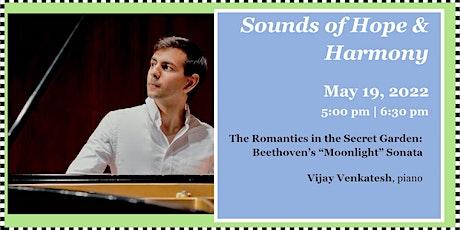 "The Romantics in the Secret Garden: Beethoven's ""Moonlight"" Sonata tickets"