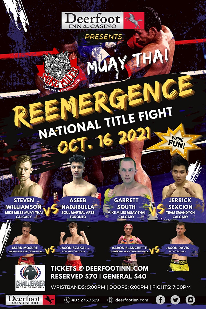 Mike Miles  Muay Thai - REEMERGENCE image