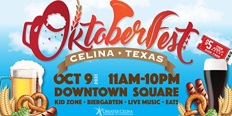 4th Annual Celina Oktoberfest tickets