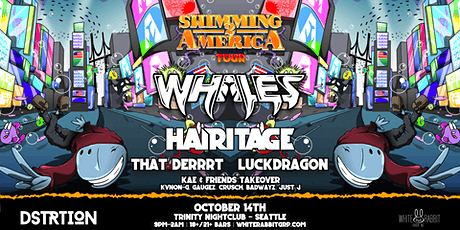 DSTRTION w/ Whales & Hairitage:  Swimming 2 America Tour tickets