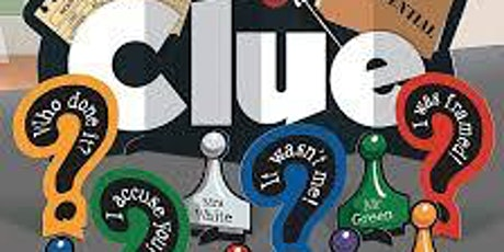 Clue! Murder Mystery Dinner Theatre presented by The Jasmine Room by Venue tickets