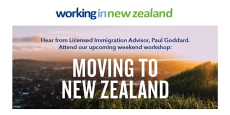 Moving to New Zealand - Manchester Workshop 2021. tickets