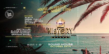 The return of the History of House tickets