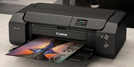 Canon Printing Week: Printing with Peter! The Pro-300 Workflow Demo tickets