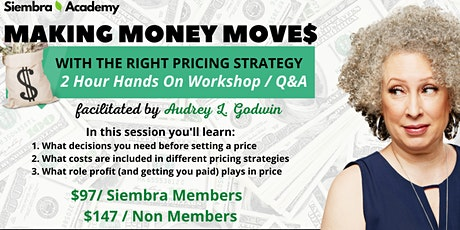 Siembra Academy: Making Money Moves tickets